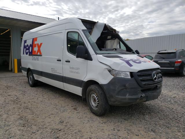 Salvage cars for sale from Copart Avon, MN: 2019 Mercedes-Benz Sprinter 2