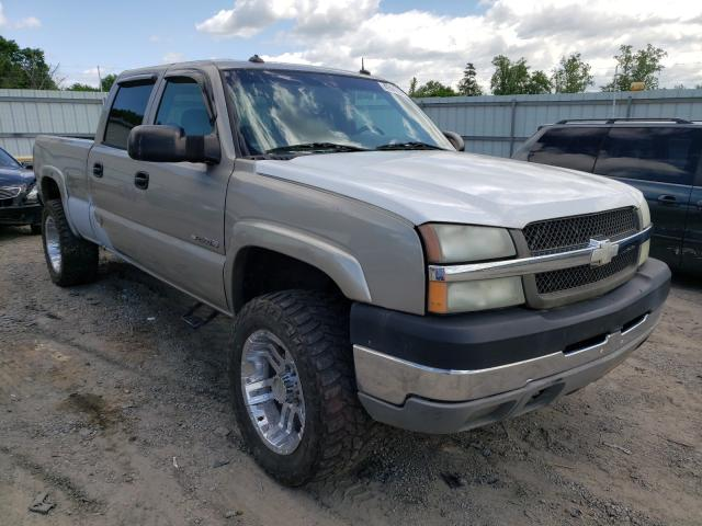 Salvage cars for sale from Copart Chatham, VA: 2003 Chevrolet Silverado