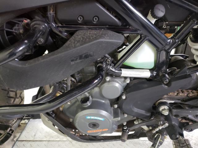 2020 KTM 390 ADVENT - Interior View