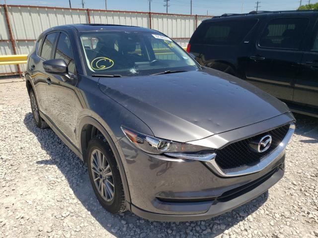 Salvage cars for sale from Copart Haslet, TX: 2017 Mazda CX-5 Touring