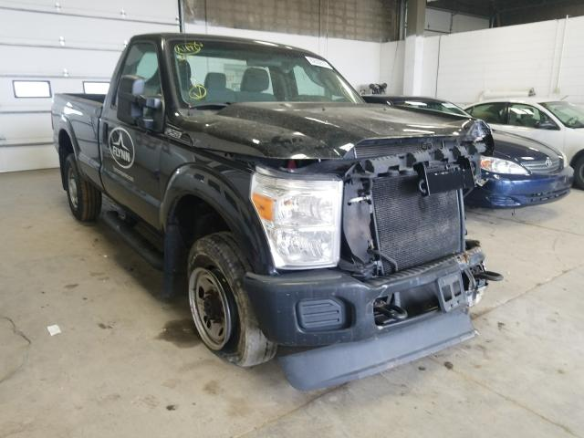Salvage cars for sale from Copart Blaine, MN: 2012 Ford F250 Super