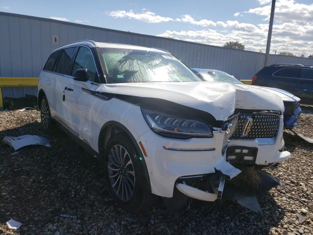 Salvage cars for sale from Copart Cudahy, WI: 2020 Lincoln Aviator RE