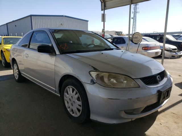 Salvage cars for sale from Copart Fresno, CA: 2005 Honda Civic LX