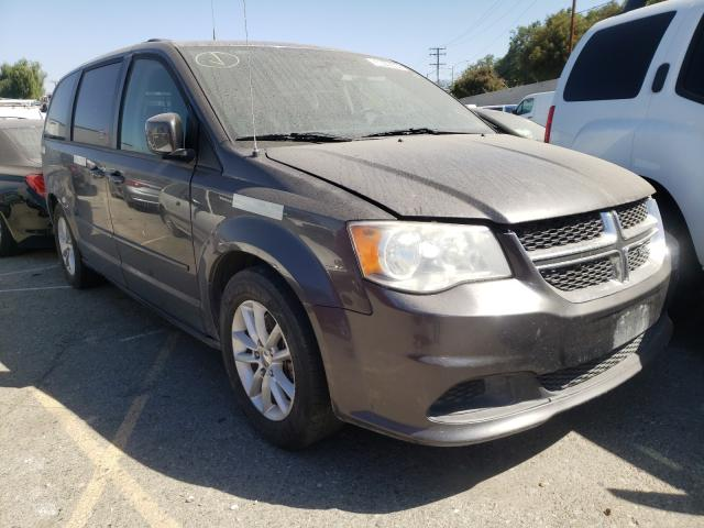 Salvage cars for sale from Copart Colton, CA: 2016 Dodge Grand Caravan