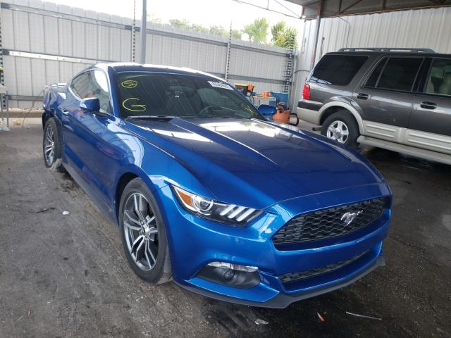 Salvage cars for sale from Copart Orlando, FL: 2017 Ford Mustang