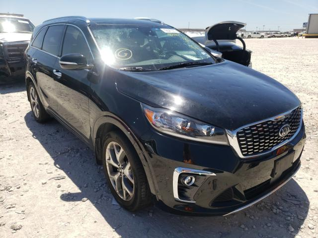Salvage cars for sale from Copart Haslet, TX: 2019 KIA Sorento SX