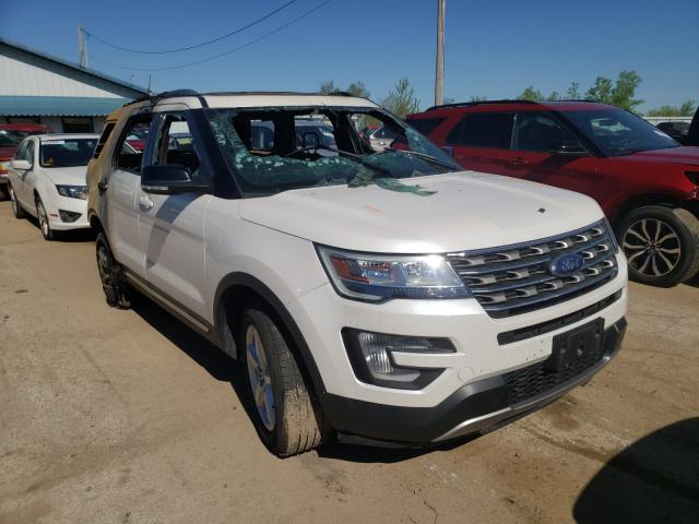 Salvage cars for sale from Copart Pekin, IL: 2017 Ford Explorer X