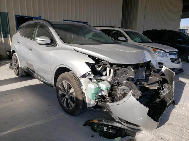Salvage cars for sale from Copart Homestead, FL: 2020 Nissan Murano SV