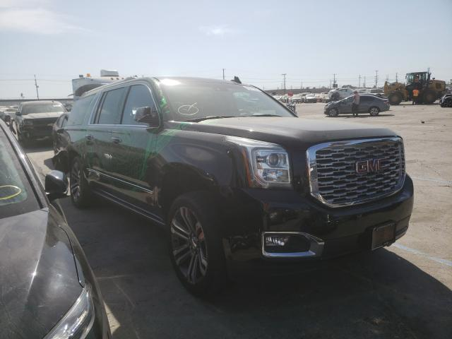 Salvage cars for sale from Copart Sun Valley, CA: 2019 GMC Yukon XL D