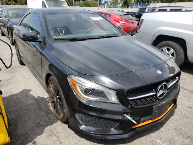 Salvage cars for sale from Copart Colton, CA: 2016 Mercedes-Benz CLA 250