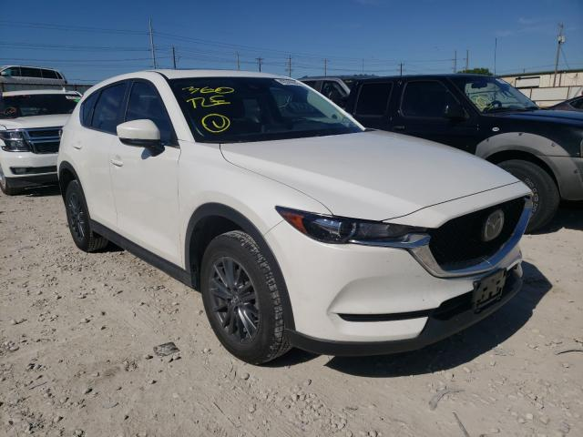 Salvage cars for sale from Copart Haslet, TX: 2020 Mazda CX-5 Touring