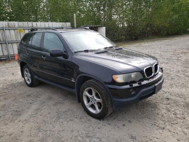 Salvage cars for sale from Copart Arlington, WA: 2003 BMW X5 3.0I