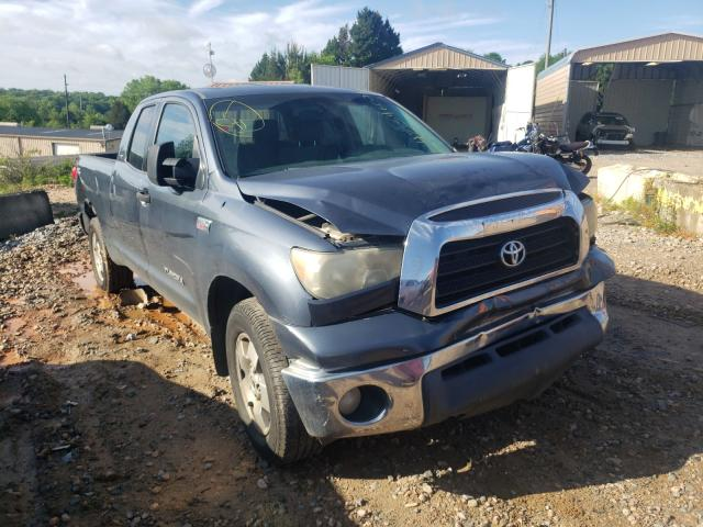 Salvage cars for sale from Copart China Grove, NC: 2007 Toyota Tundra DOU