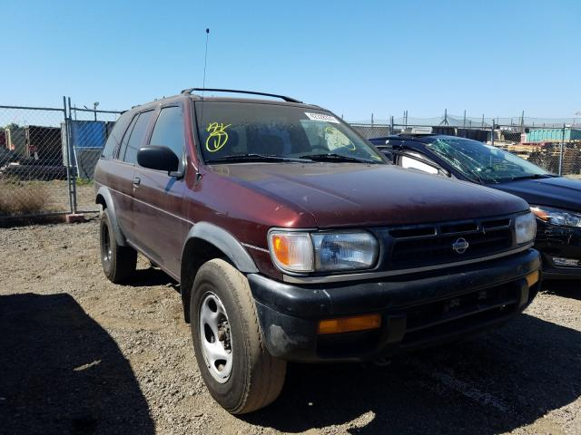 Salvage cars for sale from Copart San Martin, CA: 1997 Nissan Pathfinder