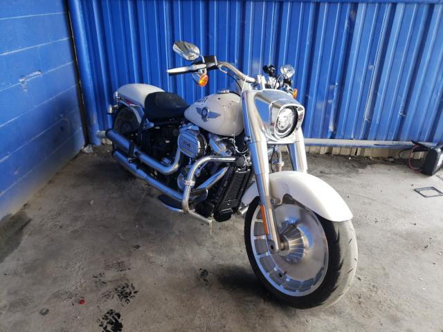Salvage motorcycles for sale at Cartersville, GA auction: 2018 Harley-Davidson Flfbs FAT