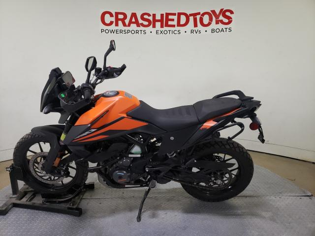 2020 KTM 390 ADVENT - Right Front View