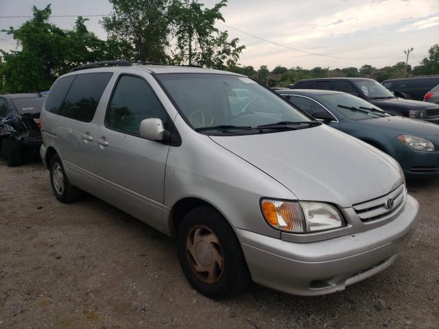 2002 Toyota Sienna LE en venta en Baltimore, MD