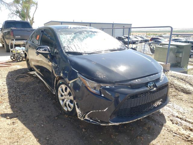 Salvage cars for sale from Copart Albuquerque, NM: 2020 Toyota Corolla LE