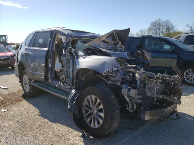 Salvage cars for sale from Copart Milwaukee, WI: 2017 Lexus GX 460