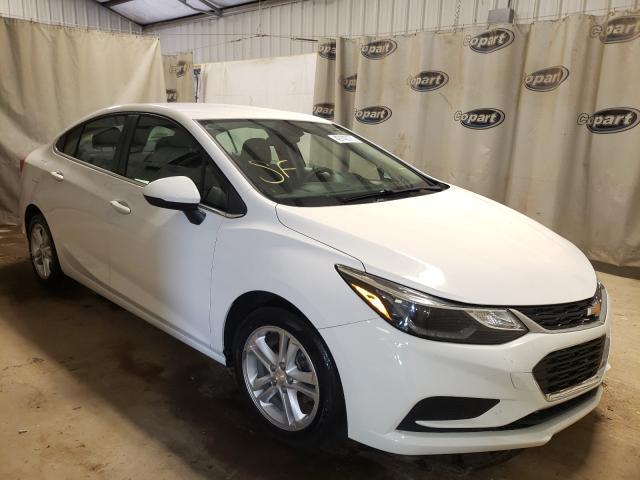 Salvage cars for sale from Copart Tifton, GA: 2017 Chevrolet Cruze LT