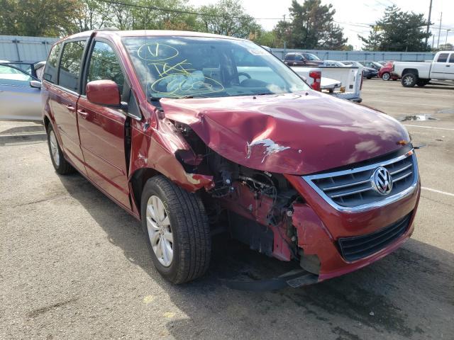 Volkswagen salvage cars for sale: 2012 Volkswagen Routan SE