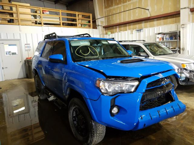 Salvage cars for sale from Copart Anchorage, AK: 2019 Toyota 4runner SR