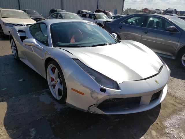 Ferrari salvage cars for sale: 2018 Ferrari 488 GTB