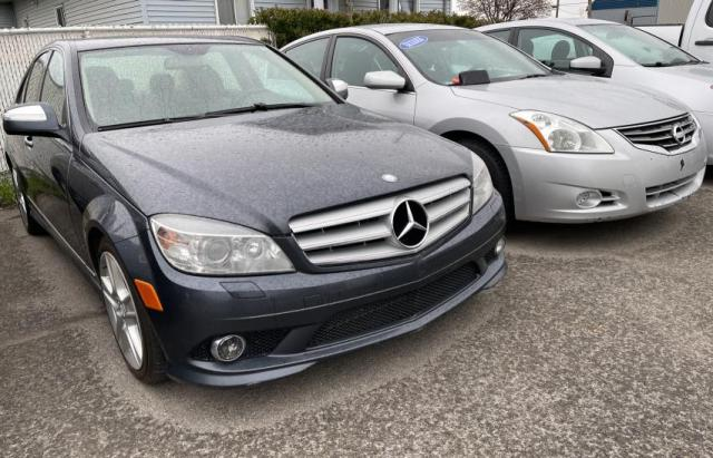 Salvage cars for sale from Copart Montreal Est, QC: 2009 Mercedes-Benz C 300 4matic