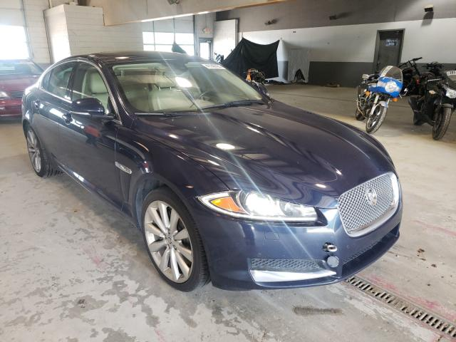 Salvage cars for sale from Copart Sandston, VA: 2013 Jaguar XF