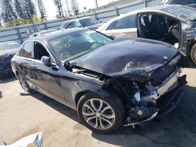 Salvage cars for sale from Copart Miami, FL: 2017 Mercedes-Benz C300