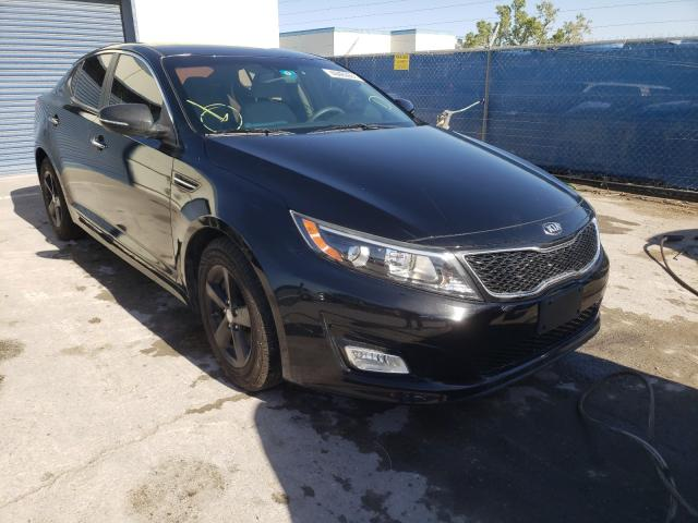 Salvage cars for sale from Copart Anthony, TX: 2015 KIA Optima LX