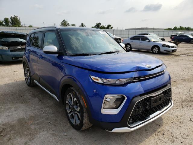 KIA Vehiculos salvage en venta: 2021 KIA Soul LX