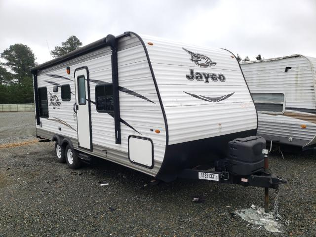 Jayco Travel Trailer salvage cars for sale: 2017 Jayco Travel Trailer