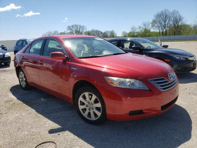 Salvage cars for sale from Copart Milwaukee, WI: 2007 Toyota Camry Hybrid