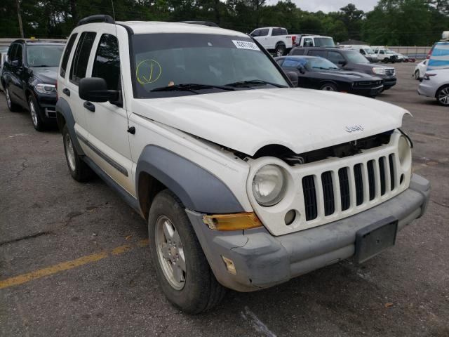Salvage cars for sale from Copart Eight Mile, AL: 2005 Jeep Liberty SP