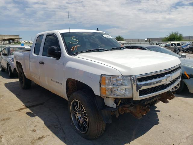 Salvage cars for sale from Copart Tulsa, OK: 2007 Chevrolet Silverado