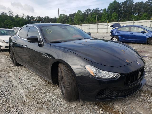 Salvage cars for sale from Copart Ellenwood, GA: 2017 Maserati Ghibli S