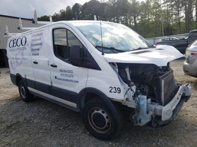 Salvage cars for sale from Copart Seaford, DE: 2017 Ford Transit T