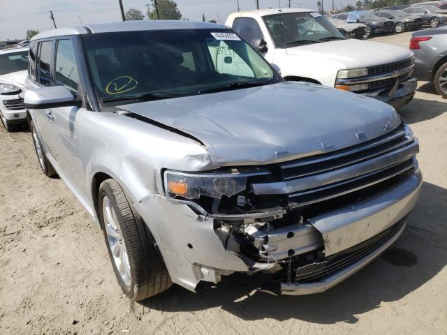 Vehiculos salvage en venta de Copart Los Angeles, CA: 2018 Ford Flex Limited