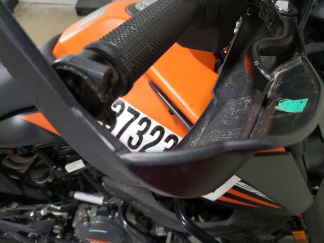 2020 KTM 390 ADVENT - Odometer View