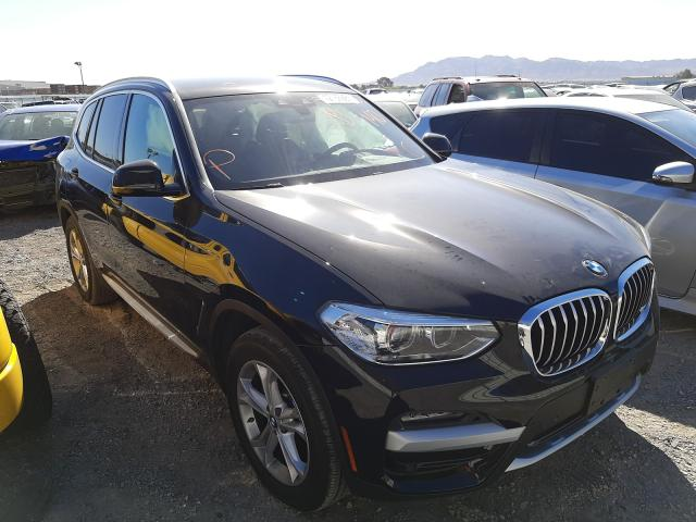 BMW salvage cars for sale: 2021 BMW X3 SDRIVE3