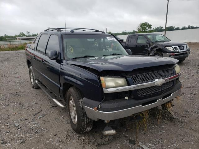 Salvage trucks for sale at Montgomery, AL auction: 2005 Chevrolet Avalanche
