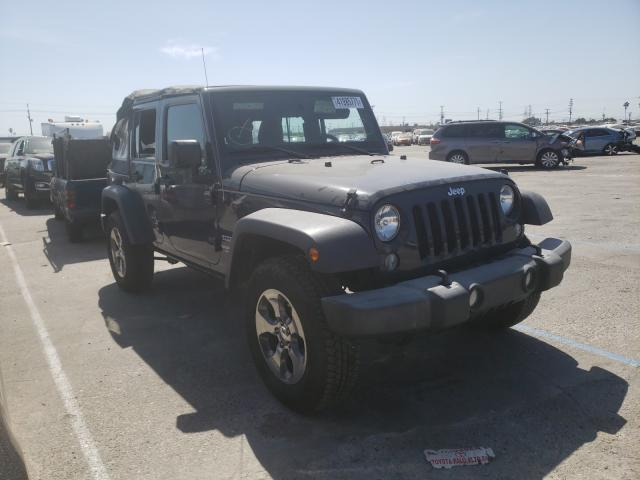 Salvage cars for sale from Copart Sun Valley, CA: 2017 Jeep Wrangler U