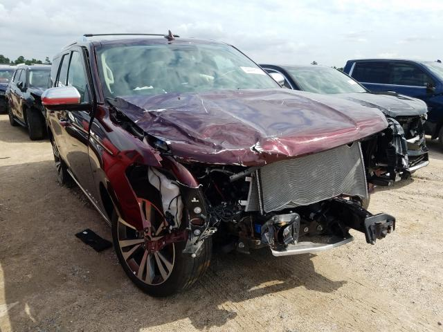 Salvage cars for sale from Copart Houston, TX: 2020 Ford Expedition