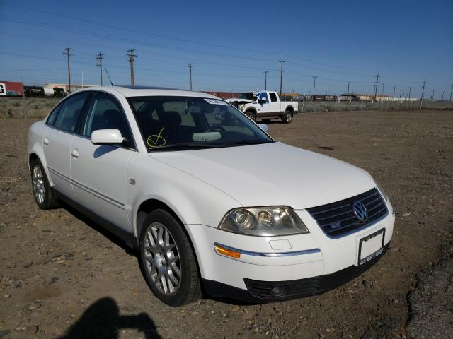 Salvage cars for sale from Copart Pasco, WA: 2003 Volkswagen Passat W8