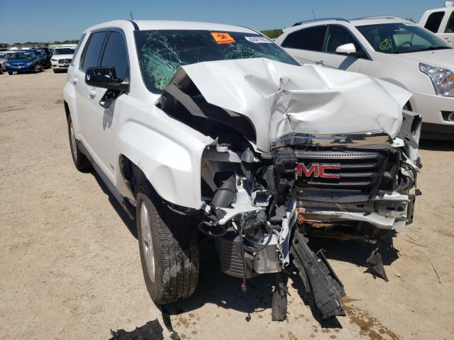 Salvage cars for sale from Copart Temple, TX: 2016 GMC Terrain SL