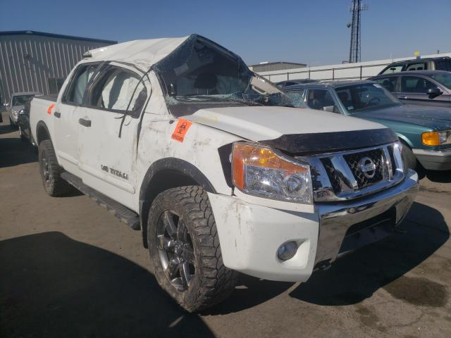 Salvage cars for sale from Copart Fresno, CA: 2015 Nissan Titan S