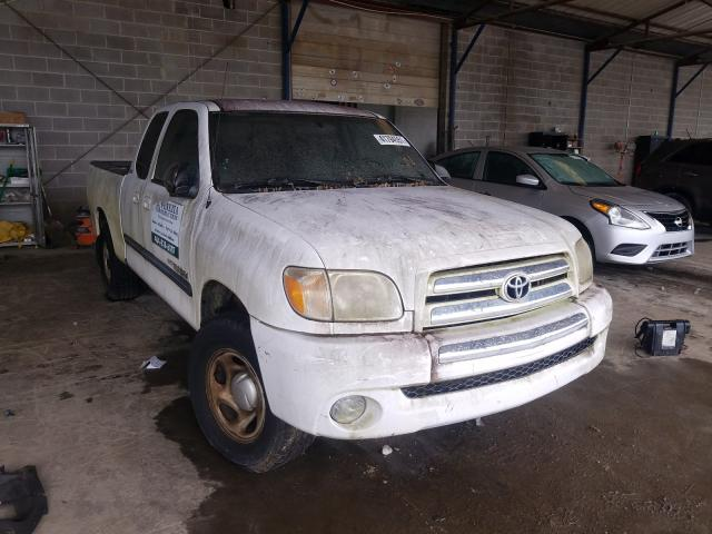 Salvage cars for sale from Copart Cartersville, GA: 2006 Toyota Tundra