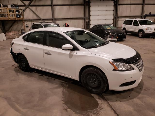 Salvage cars for sale from Copart Montreal Est, QC: 2015 Nissan Sentra S
