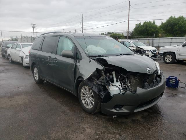 Salvage cars for sale from Copart Moraine, OH: 2014 Toyota Sienna XLE